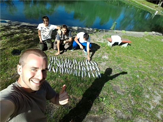 Lago san martino pesca sportiva dal 1965 for Grosso pesce di lago